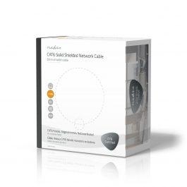 Netwerkkabel op rol – CAT6 F/UTP –  Solid – 50m – Grijs